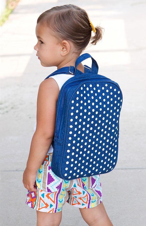 12 Polka Dot Backpack