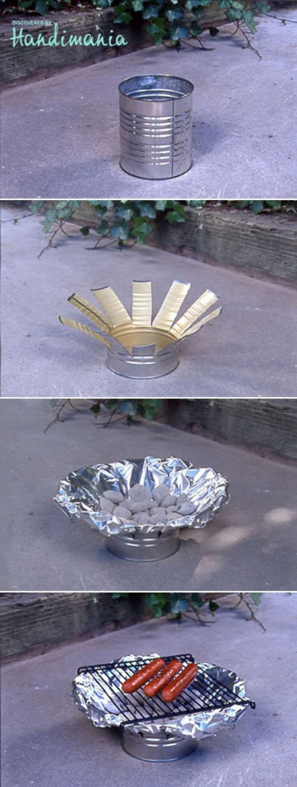 13 DIY Tin Can Grill