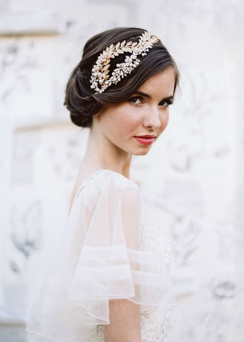13 retro style wedding hairstyle for medium length hair