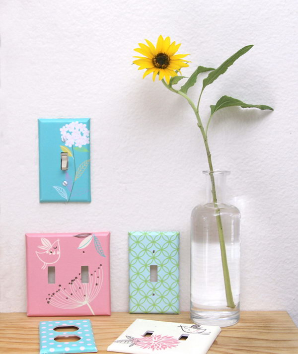 15 Decoupage Outlet Covers