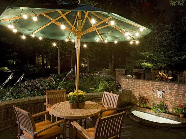 15 Umbrella Lights for Backyard