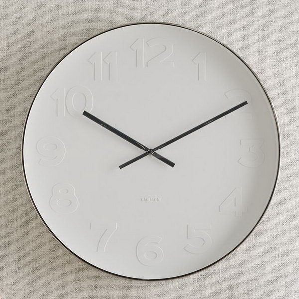 15 West Elm Clock Knock Off