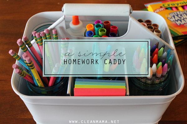 16 A Simple Homework Caddy