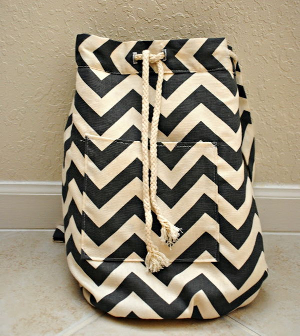 16 Chevron Backpack