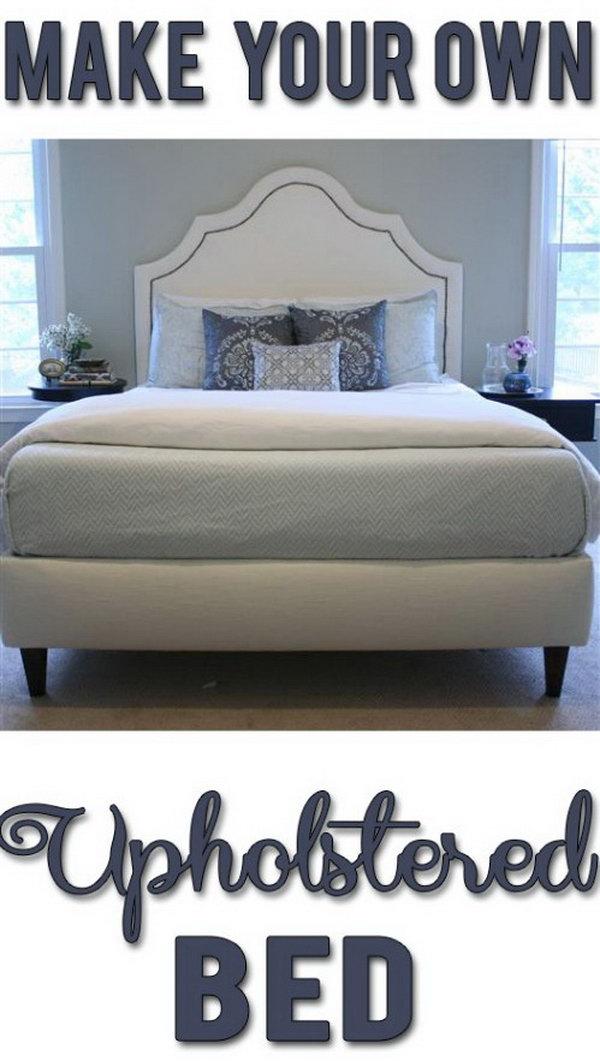 16 DIY Upholstered Bed Frame
