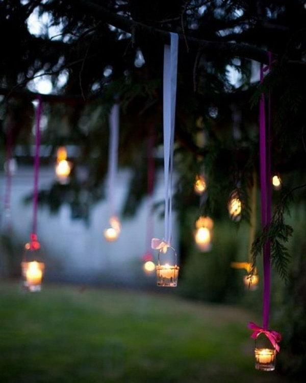 16 Hanging Tea Lights
