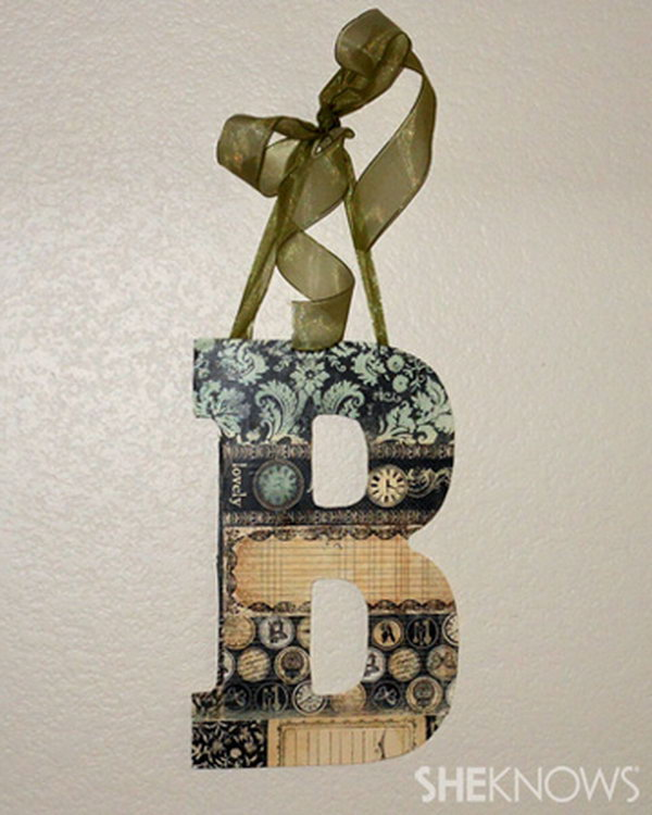 17 Shabby Chic Decorative Letters