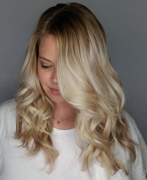 17 medium blonde balayage hairstyle