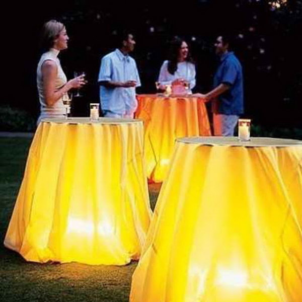 18 Charming Table Lighting Ideas
