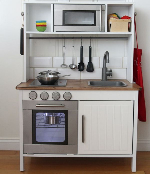 18 IKEA Hacks for Play Kitchen