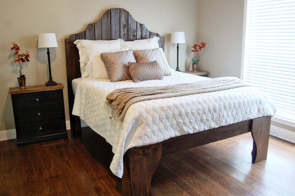 19 Statement Bed Frame with Fantastic Front Legs