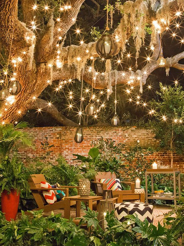 2 Amazing String Backyard Lighting Ideas