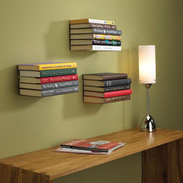 2 Invisible Bookshelf
