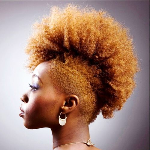 15 Fun Fancy And Simple Natural Hair Mohawk Hairstyles Page 2