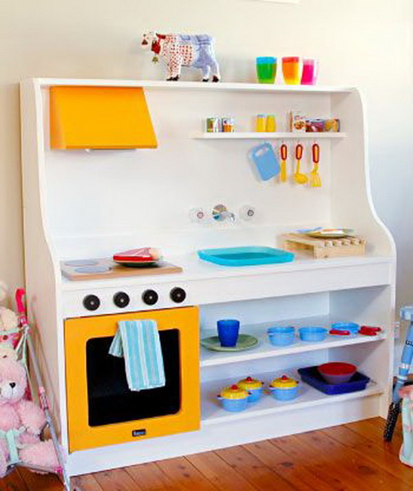 20 DIY Play Kitchen
