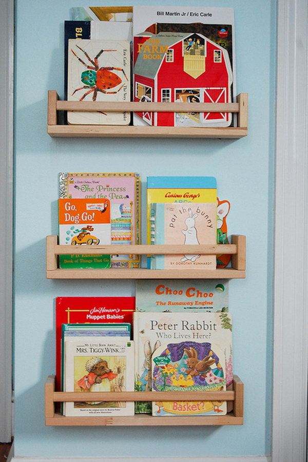 22 Quick and Easy Book Storage