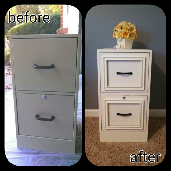 23 Turn a Filing Cabinet to Expensive Looking Night Stand