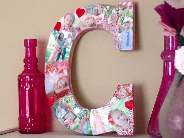 Сделать декоративные буквы своими руками