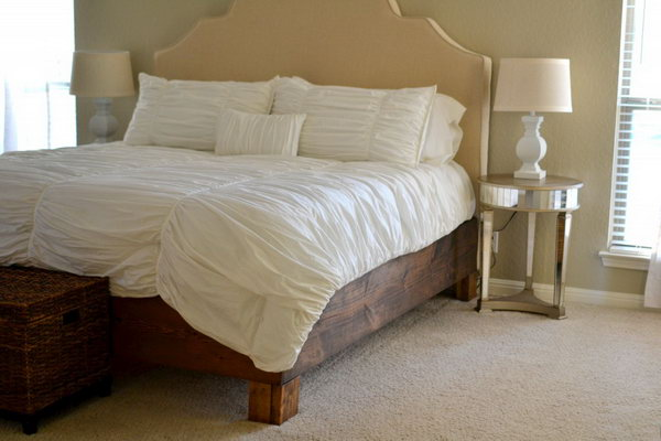 30 Rustic and Romantic Bed Frame