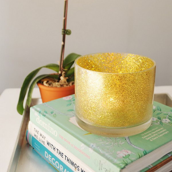 32 Glitter Votive Holder
