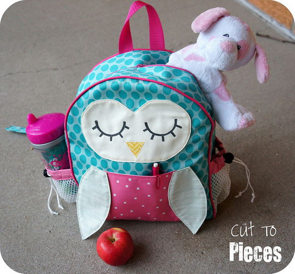 4 Owl Tag Along Toddler Backpack