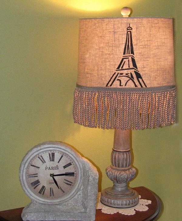 4 Paris Lampshade