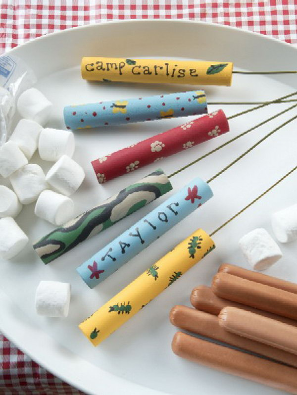 5 DIY Camp Roasting Sticks