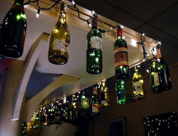 5 Wine Bottle Lighting For Backyard