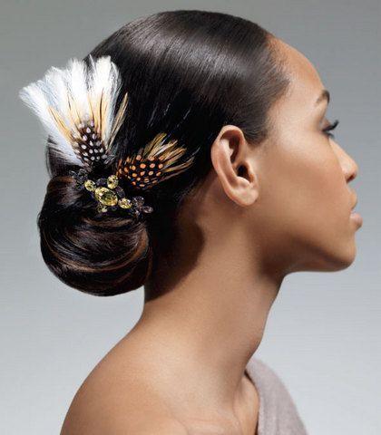 5 sleek exotic updo for black hair