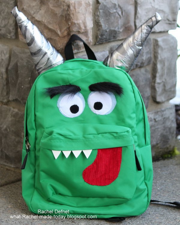 6 Monster Backpack