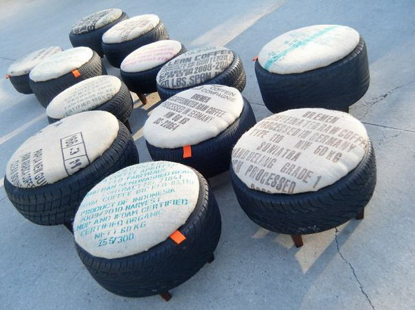 25 Diy Tire Crafts Creative Ways To Repurpose Old Tires