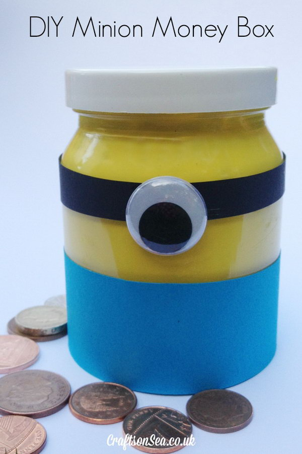 32 cute minion crafts your kids will love page 7 for Diy to make money