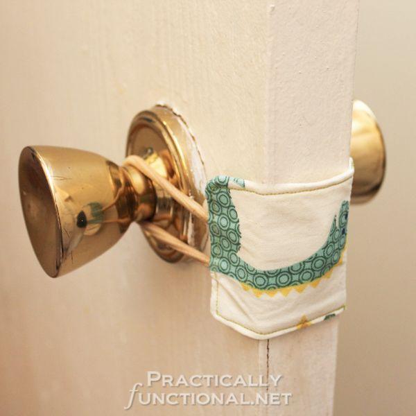 8 DIY Nursery Door Latch Cover
