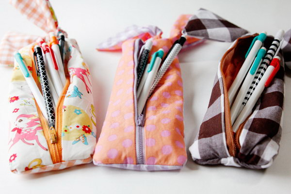 8 Knotted Pencil case
