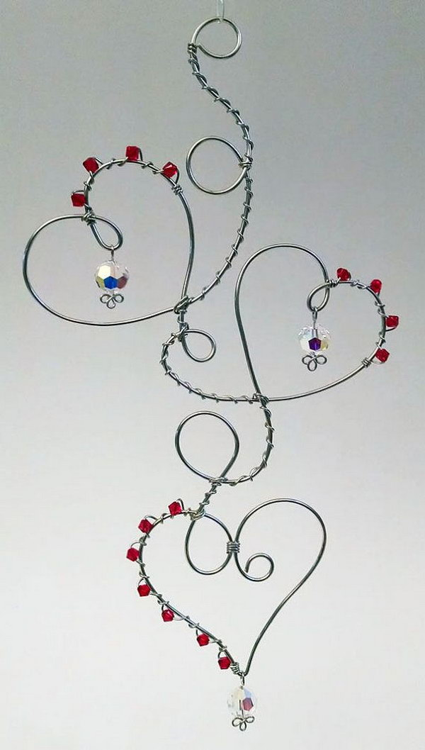 20 DIY Wire Projects – Tutorials & Ideas To Make Crafts From Wire – Page 9 – Foliver blog