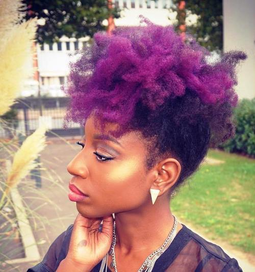 15 Fun, Fancy and Simple Natural Hair Mohawk Hairstyles – Page 9 ...