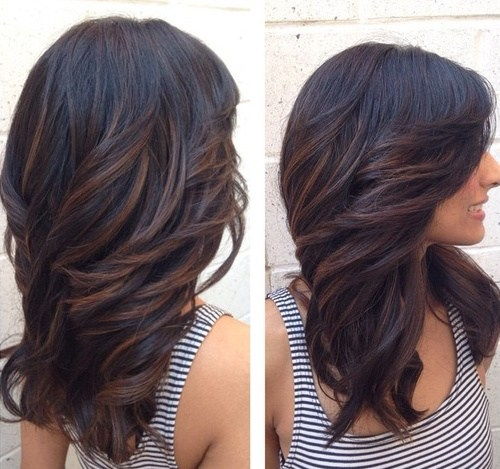 1 layered haircut for long hair with side swept bangs