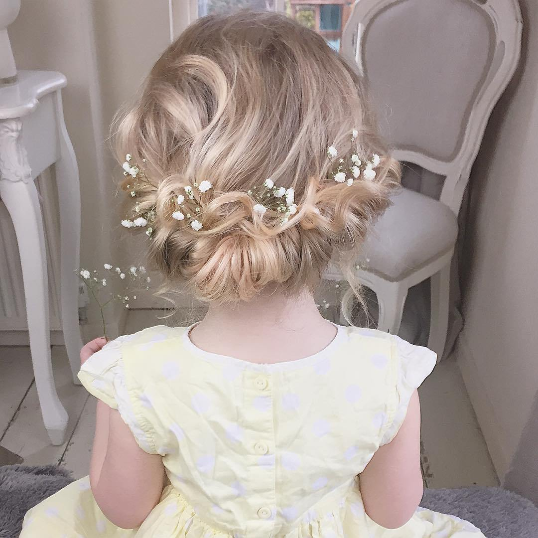 11 formal updo for toddlers