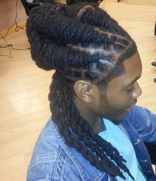 14 hairstyle with twists for men