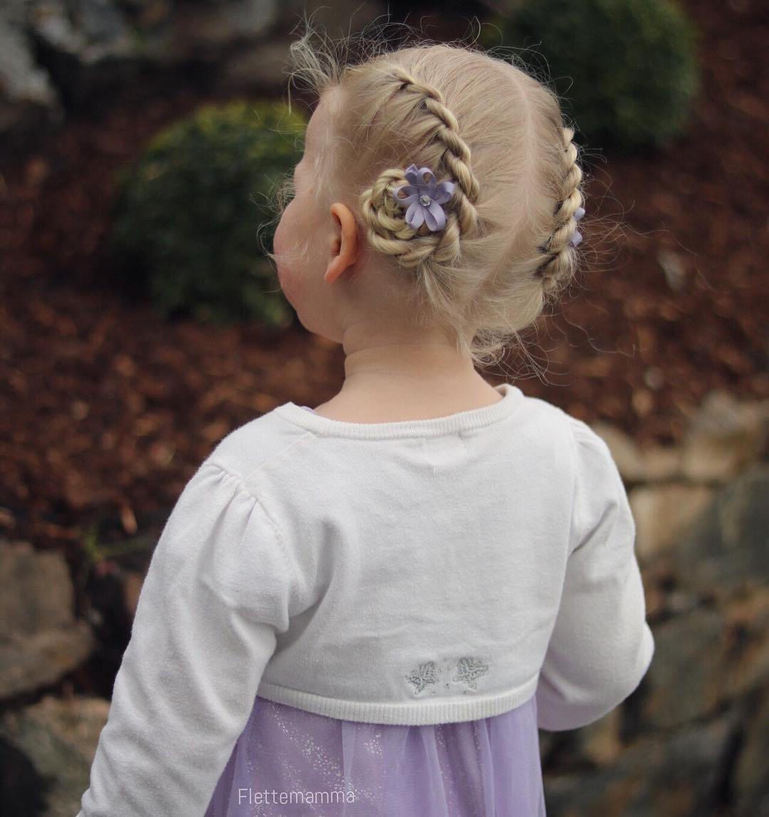 14 toddler updo hairstyle