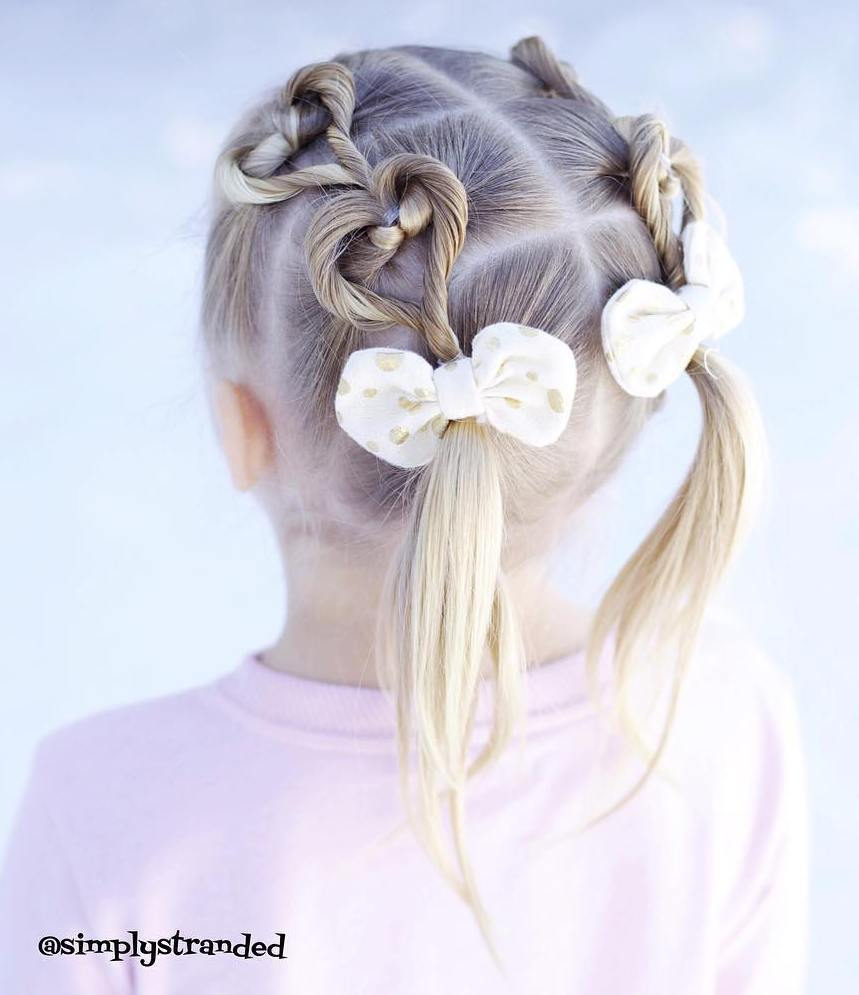 15 pigtails for little girls