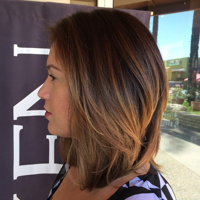 18 medium Asian balayage hairstyle