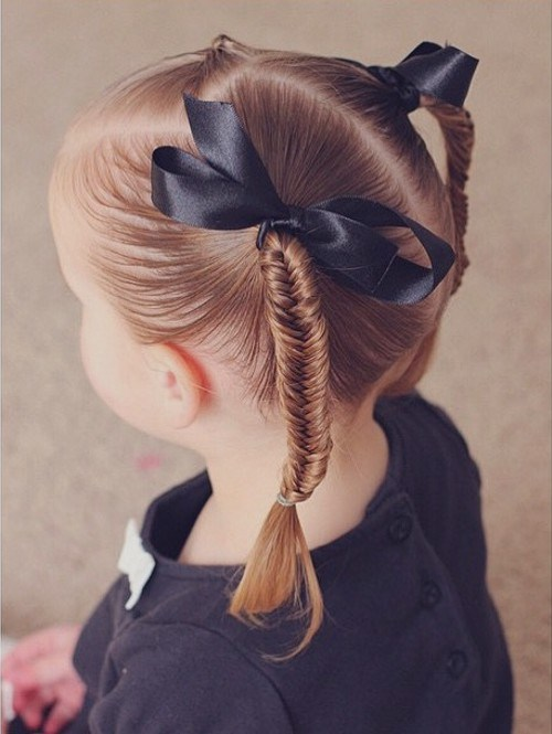 22 fishtail pigtails girls hairstyle