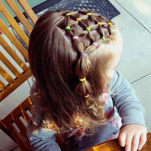 25 simple cute hairstyle for baby girl