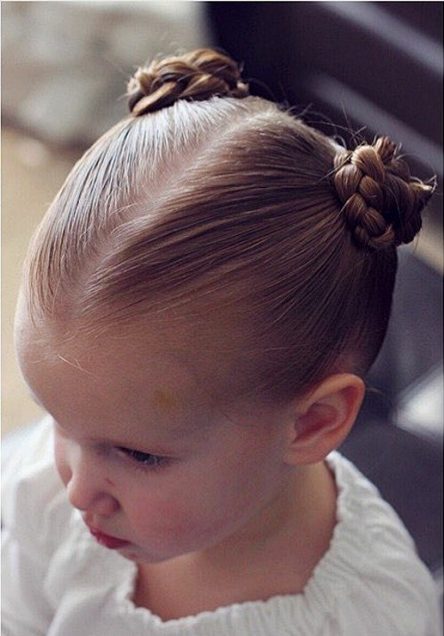29 tight braided knots for little girls