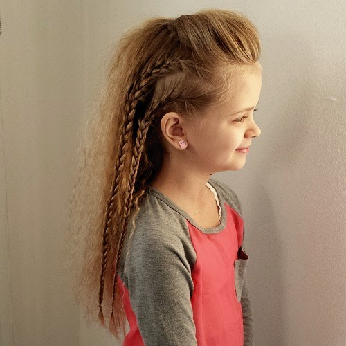 33 little girls hairstyle for long hair