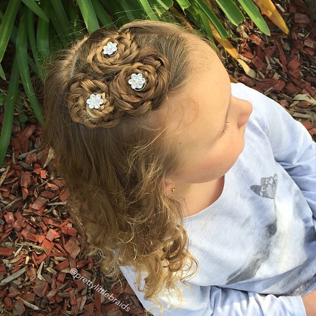 34 braided little girls hairstyle