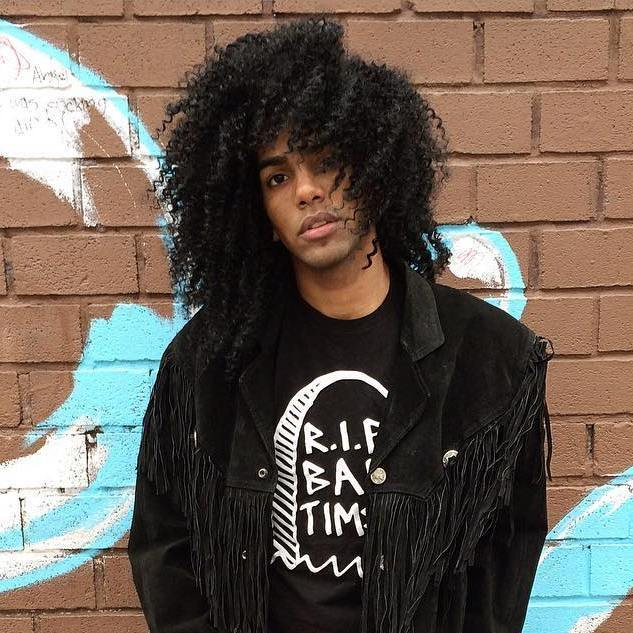 5 long natural hairstyle for black guys