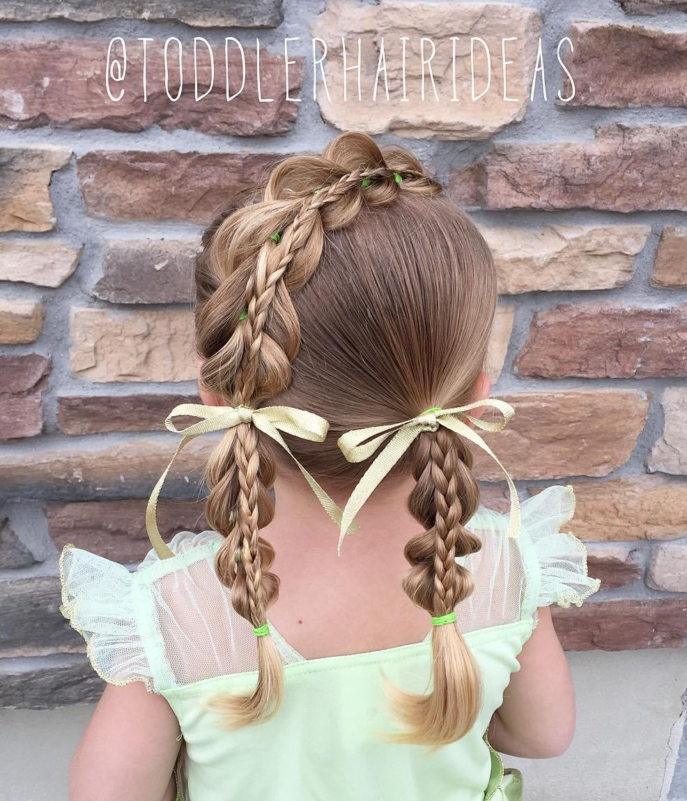 7 toddler braided hairstyle