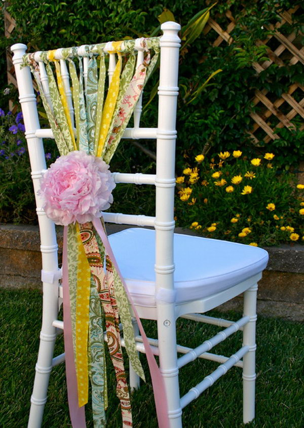 1 Cute and Whimsical Chair Decoration